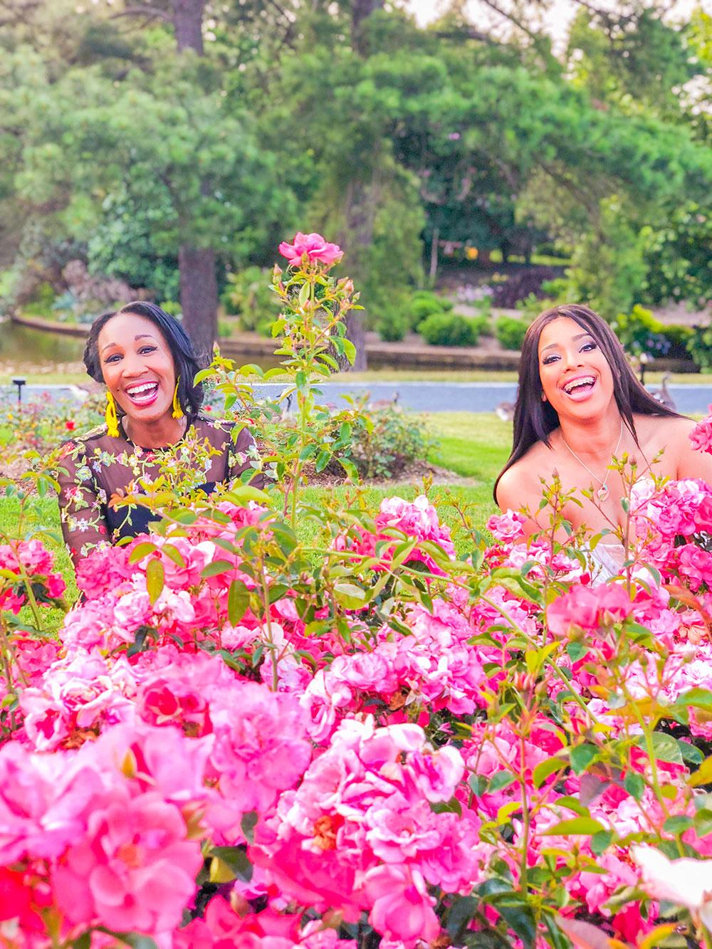 shaunda necole norfolk botanical garden rose garden