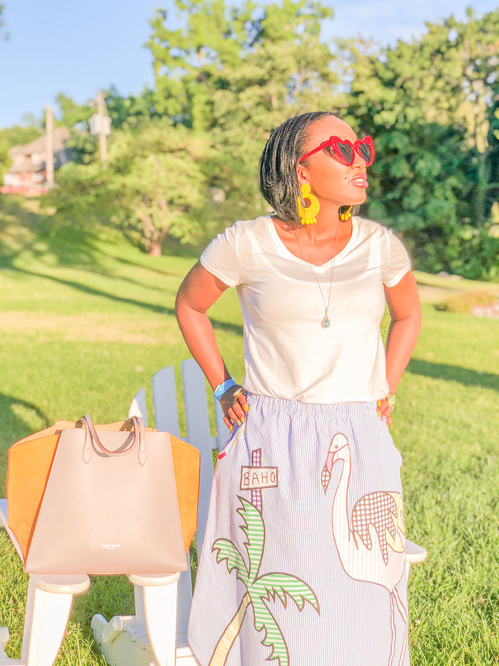 Shaunda Necole Aurora NY Teddy Blake designer bags