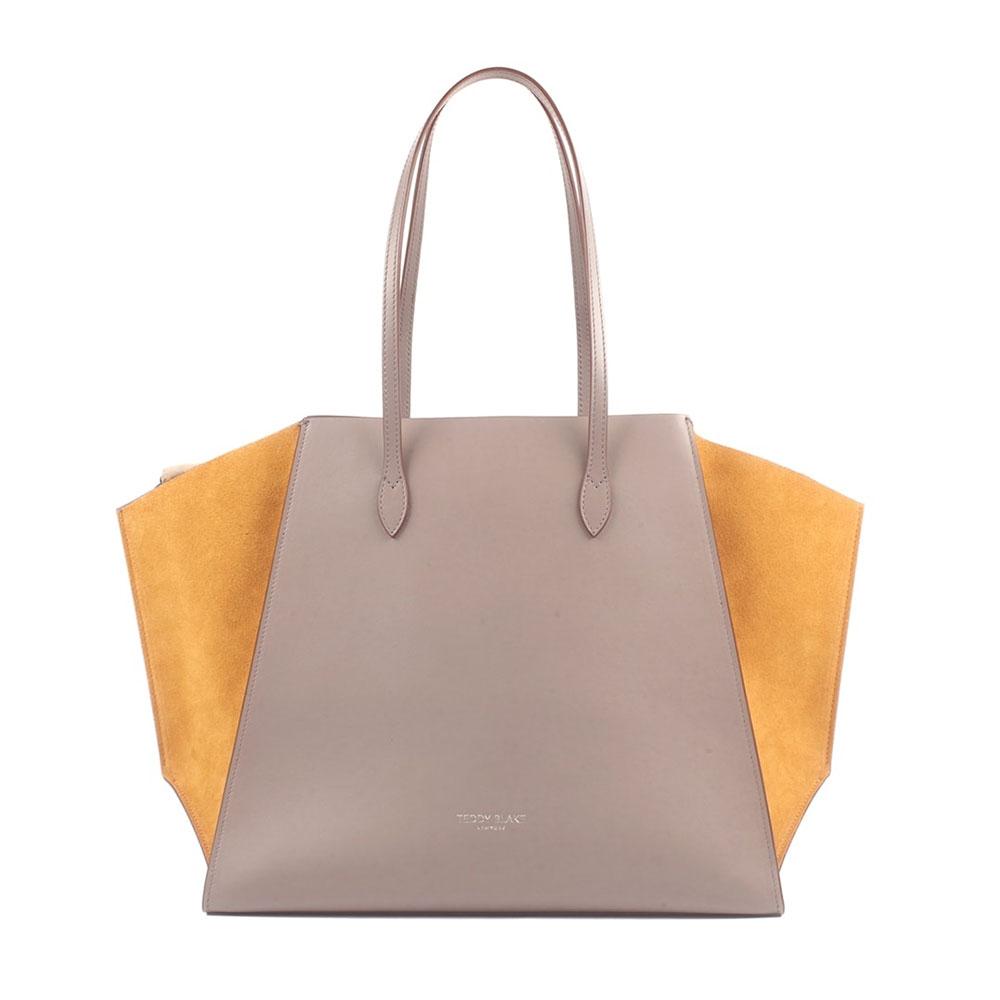 teddy blake gemma bag orange grey