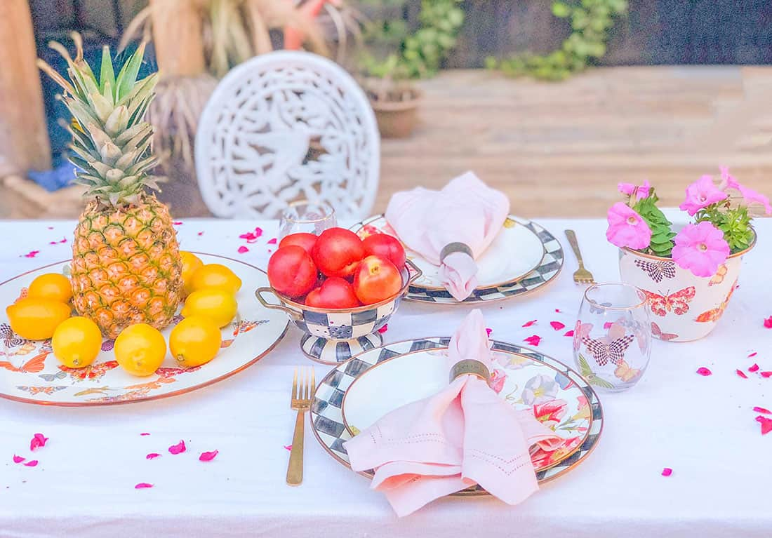 MacKenzie-Childs the perfect tablescape
