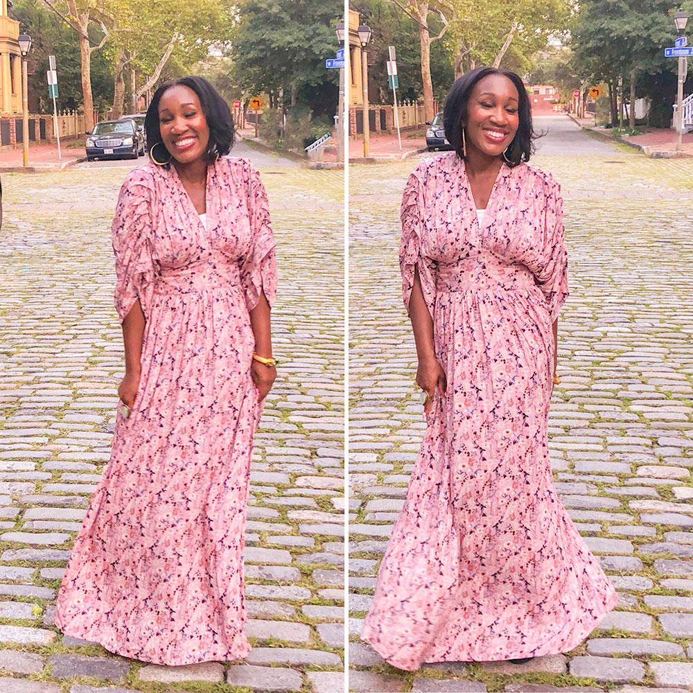bohemian chic style dress