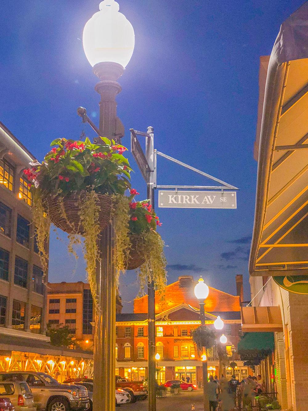 kirk ave downtown roanoke