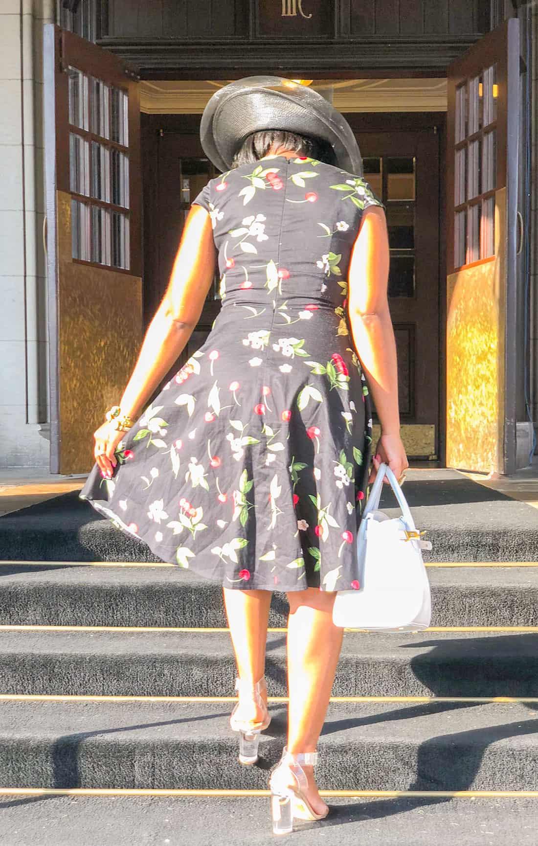 shaunda necole classy 50s style dress