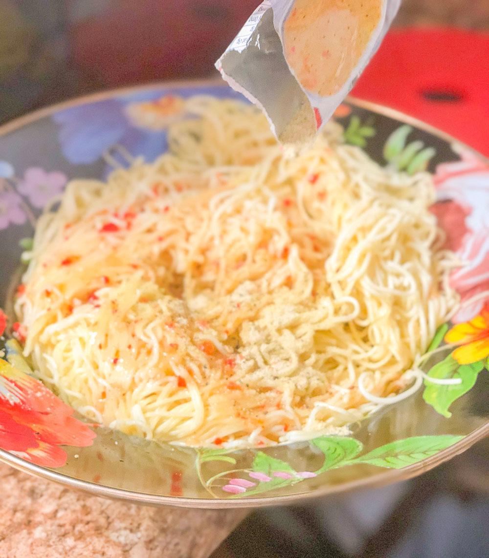 shrimp & veggie pasta recipe- aldi italian mix