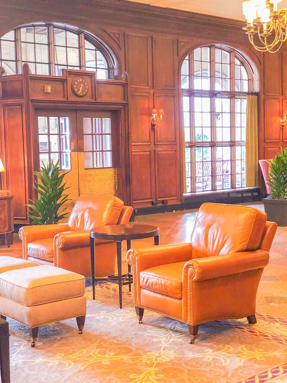 hotel roanoke lobby