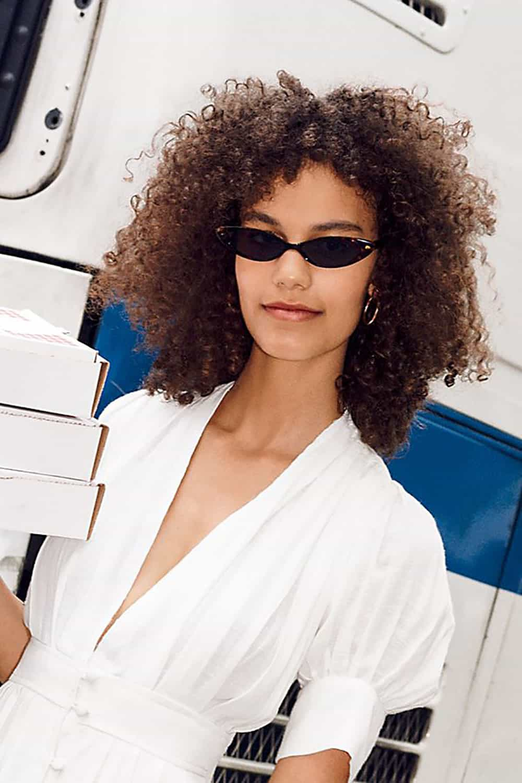 free people skinny cat eye sunglasses
