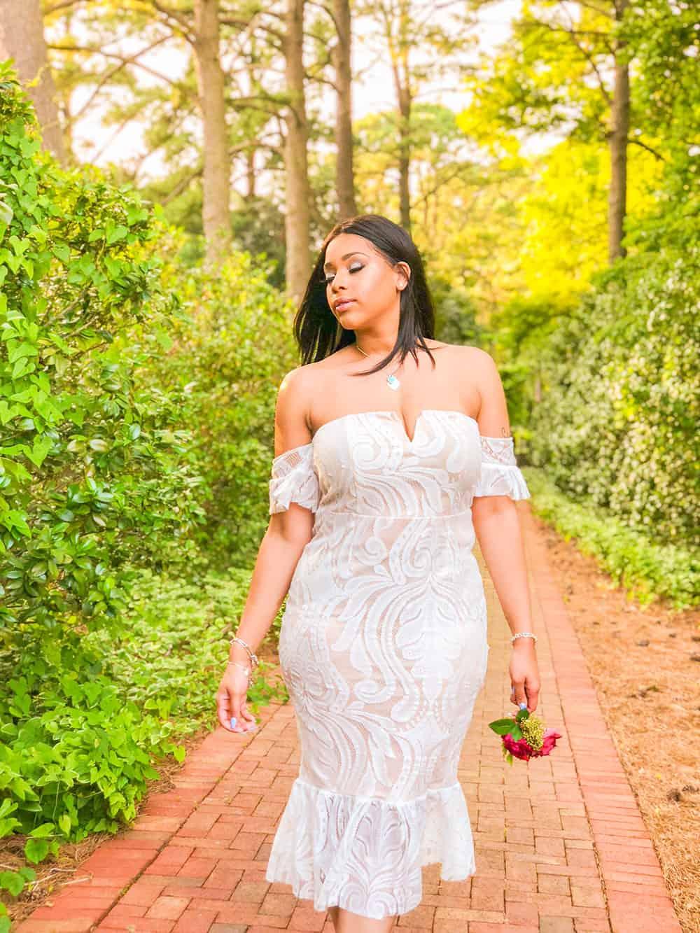 norfolk botanical garden bride
