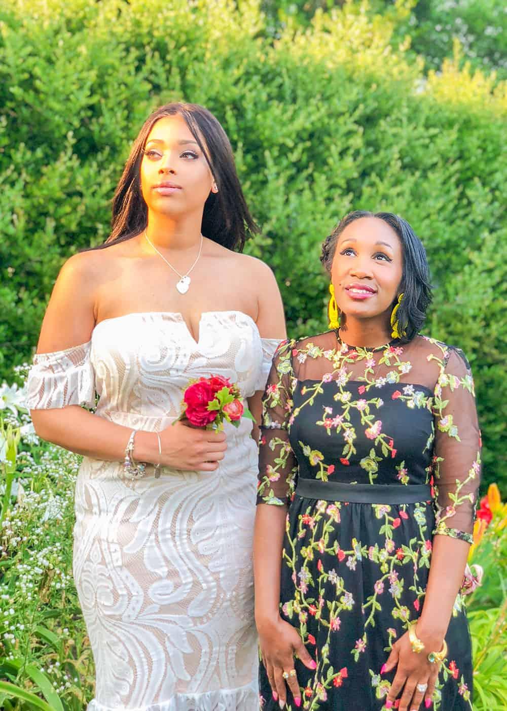 shaunda necole wedding dress inspiration