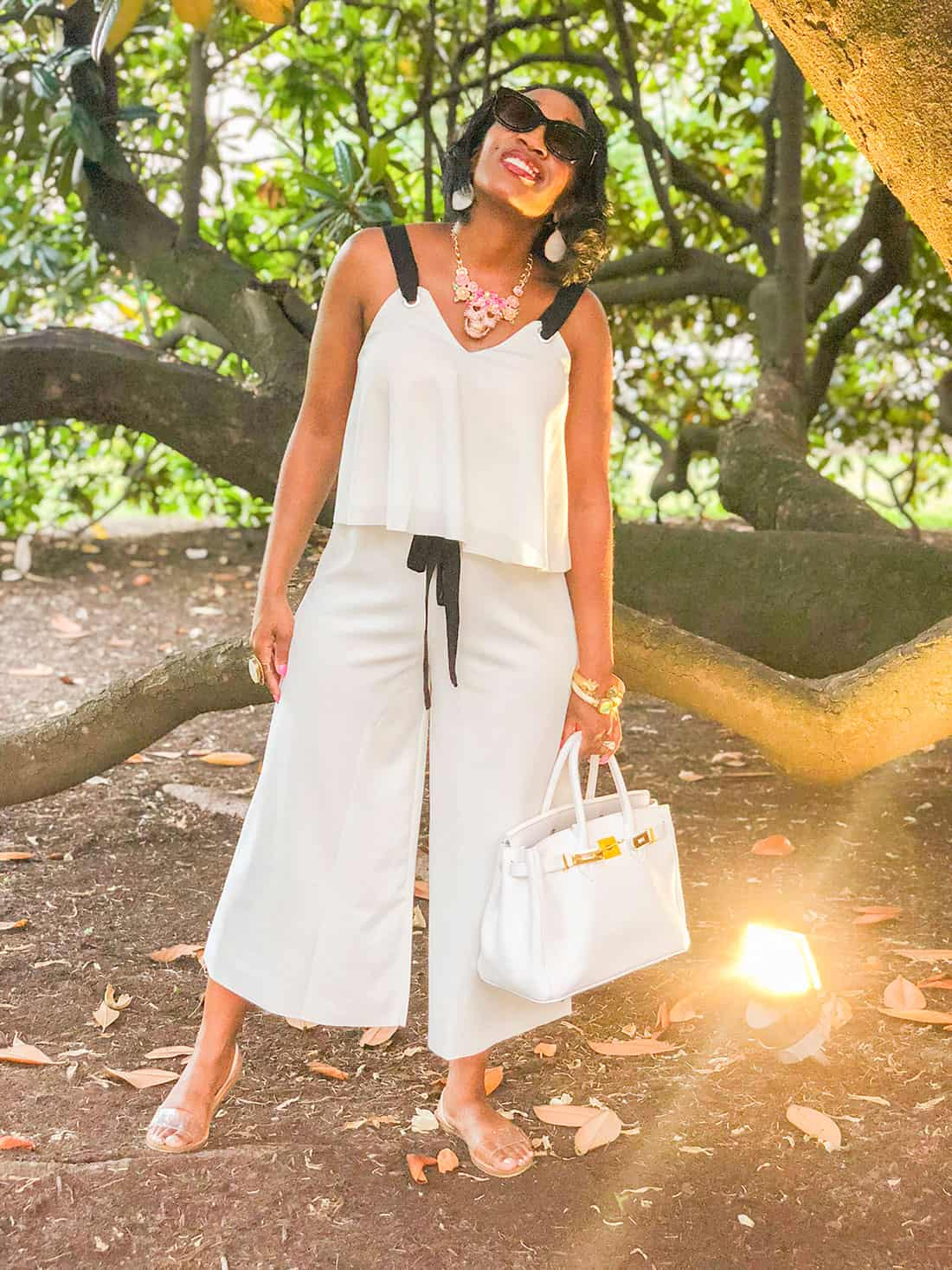 shein all white outfit under $30