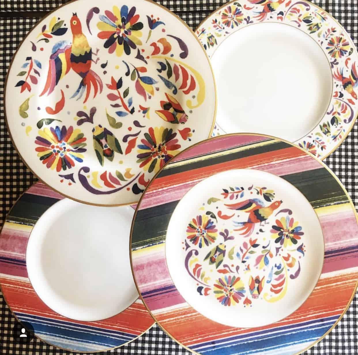 Totally Tikaa Fiesta Plates