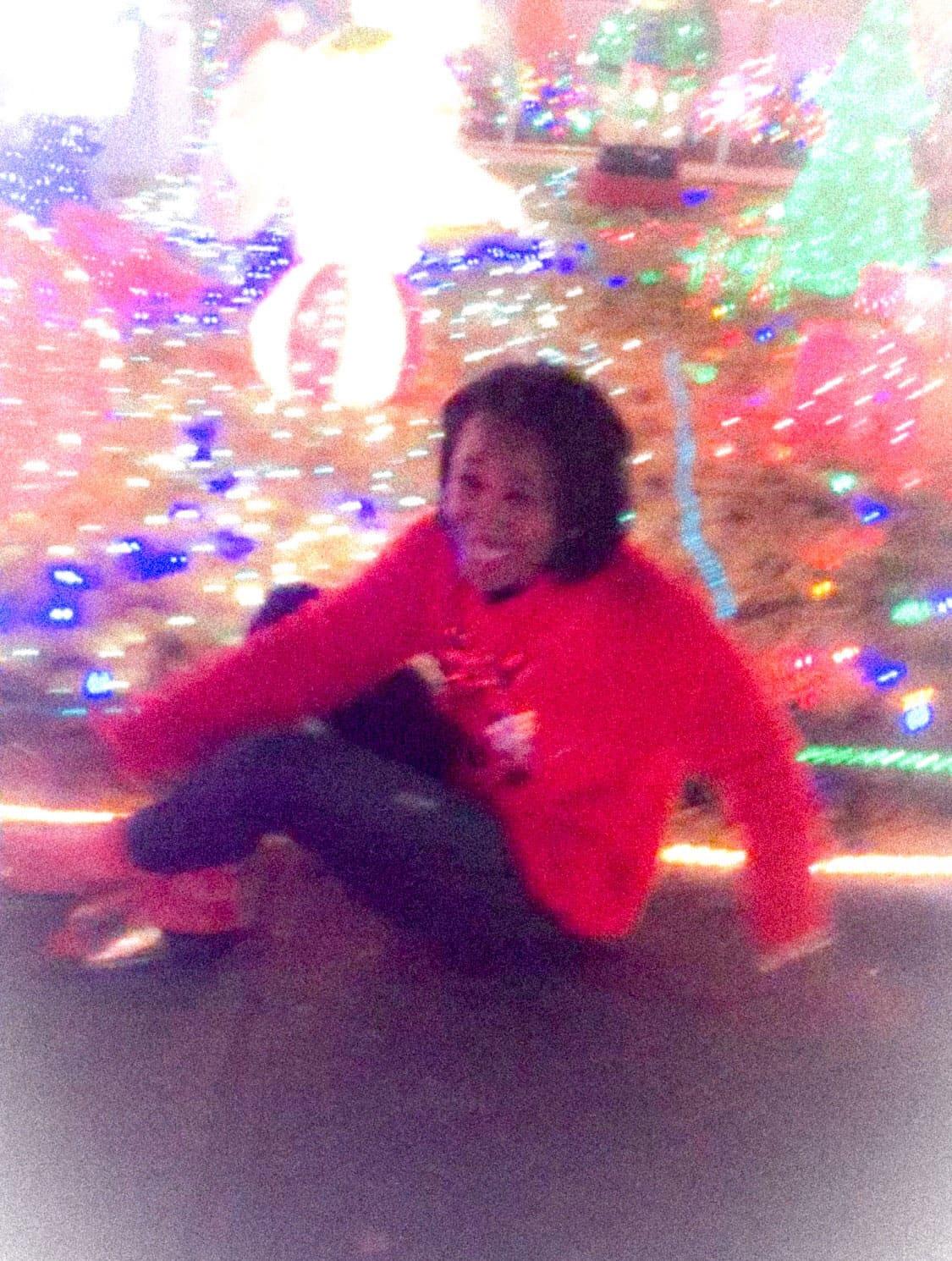 Christmas Lights Bloopers