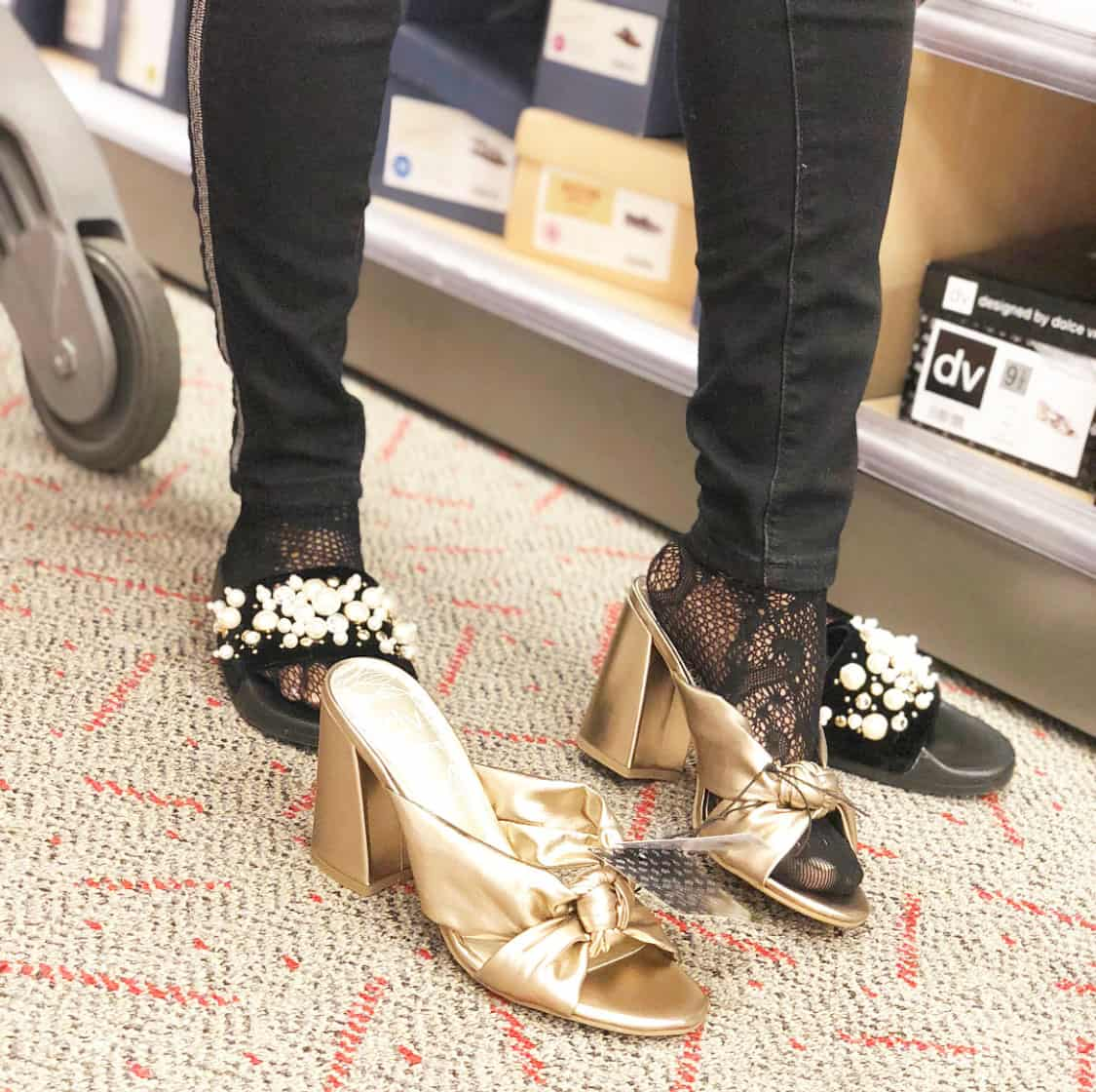 Shaunda Necole   I Can't Be Trusted At Target because shoes are under $35