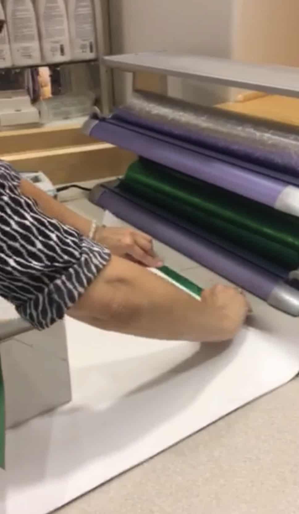 Gift Wrap Like A Pro - Step 5 - fold wrapping paper   Shaunda Necole