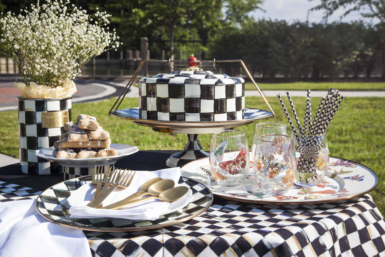 shaunda necole mackenzie-childs courtly check table