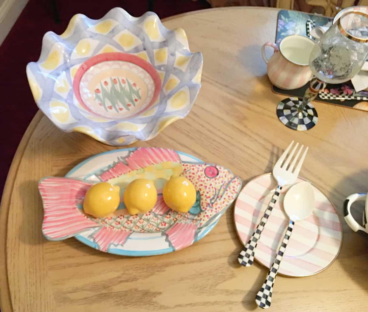 ShaundaNecole.com | MacKenzie-Childs Patterns Gone But Not Forgotten Collections