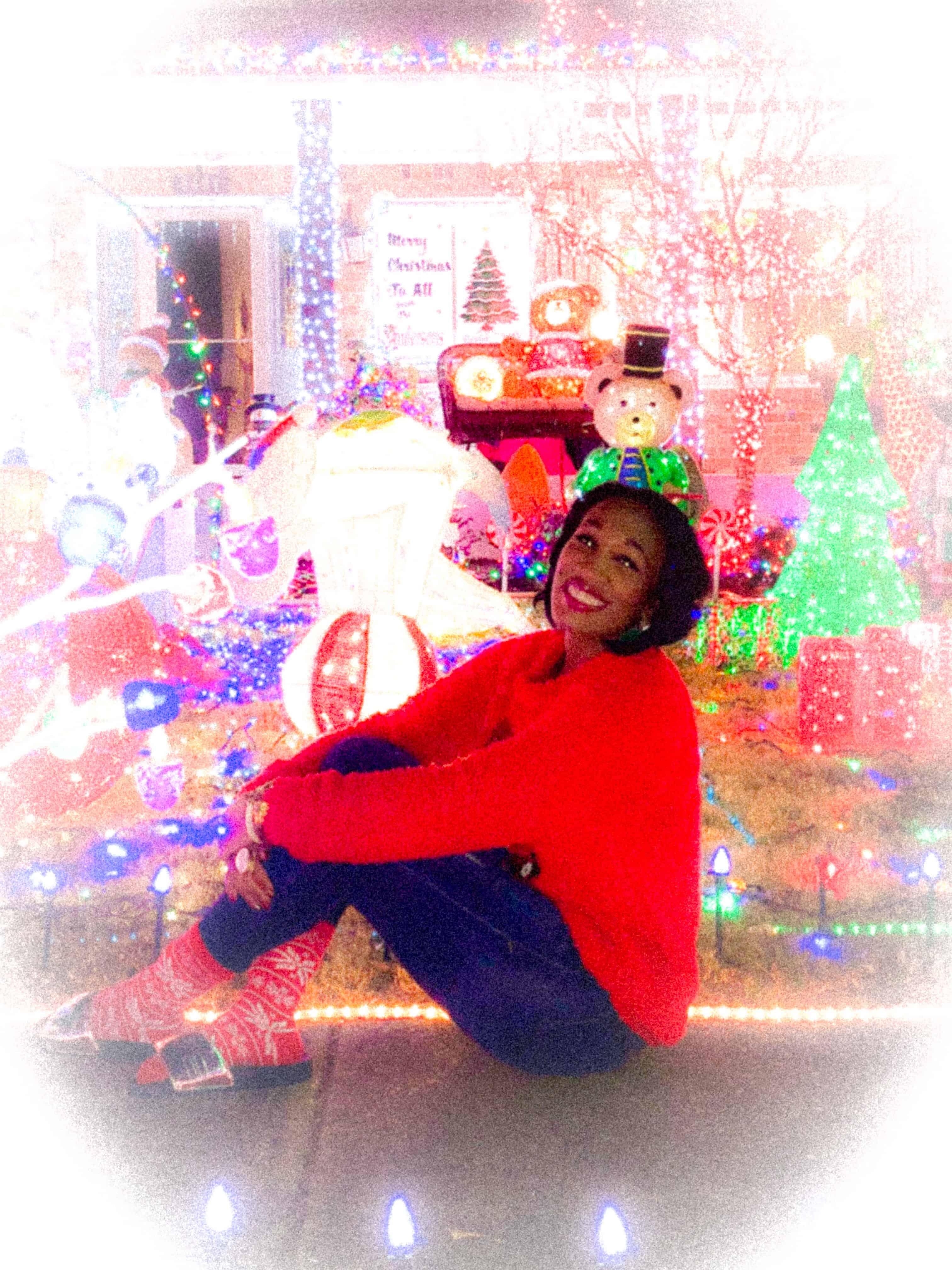 Shaunda Necole 2017 VA Beach Christmas Lights