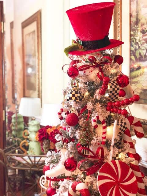 MacKenzie-Childs Courtly Courtly Check Christmas Tree Ideas & Inspiration