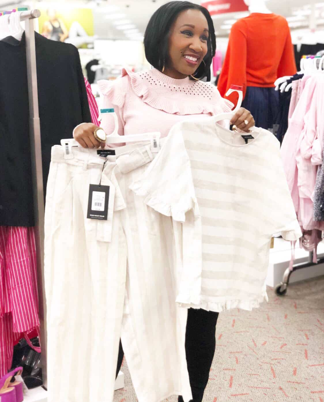 Shaunda Necole   I Can't Be Trusted At Target Who What Wear new clothes