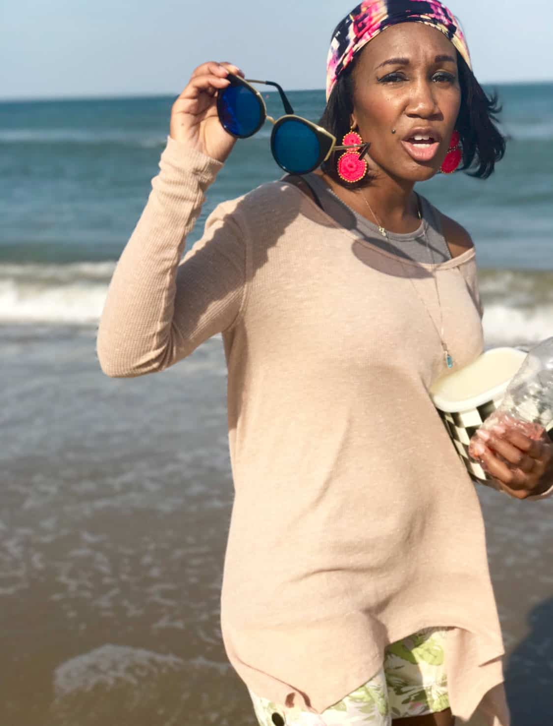 Shaunda Necole My 2017 Blogger Bloopers- beach shoots