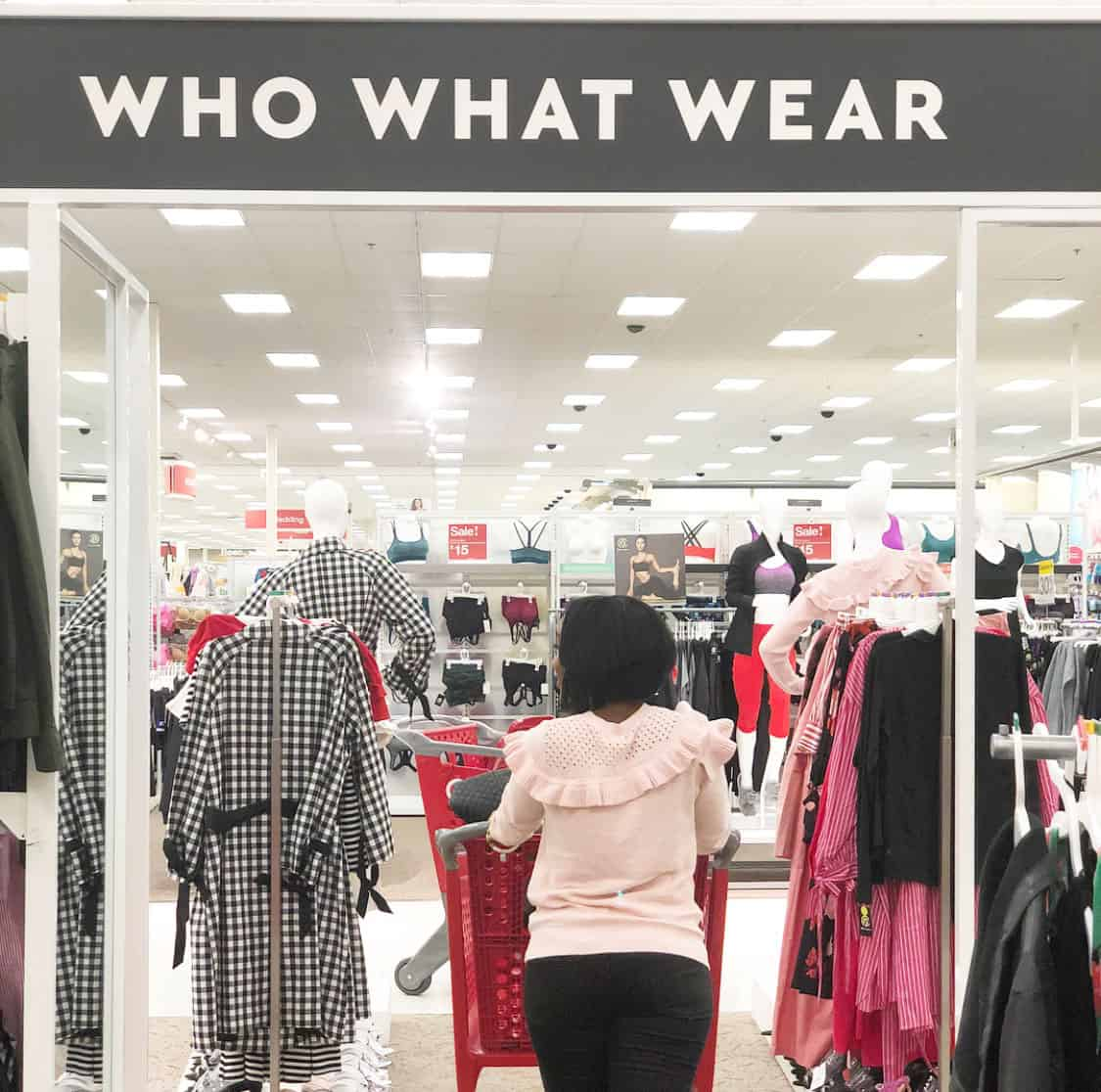 Shaunda Necole   I Can't Be Trusted At Target Who What Wear Collection