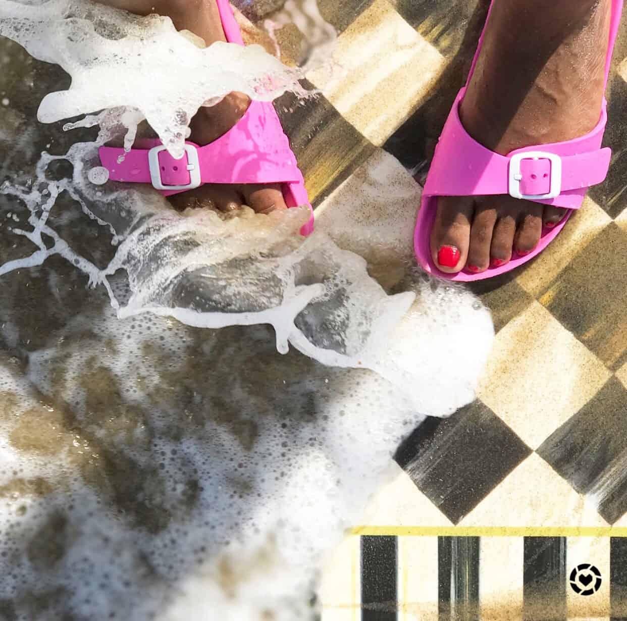 Shaunda Necole MacKenzie-Childs Floor Mat at the Beach