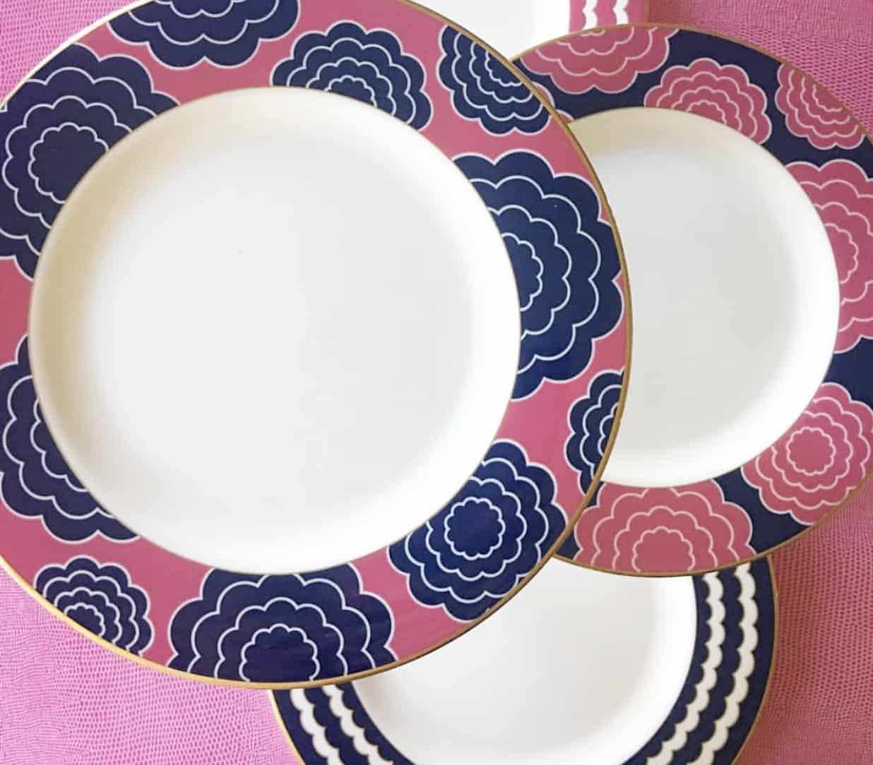 Lenox x Totally Tikaa dinner plates