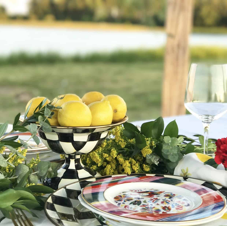 Texas designer Totally Tikaa Lenox dinner plates