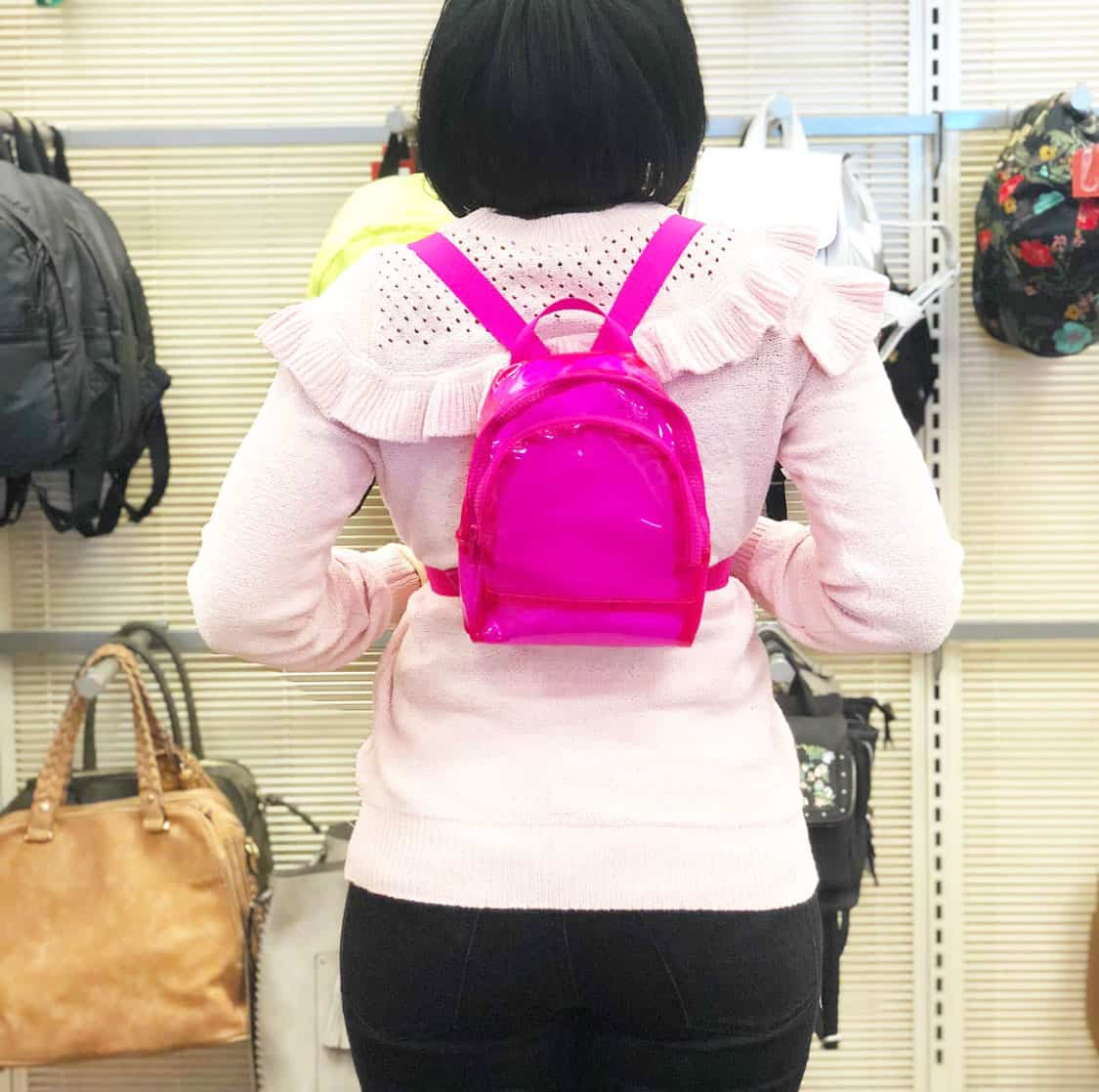 Shaunda Necole   I Can't Be Trusted At Target   Target Tag Bookbags & Fanny Packs