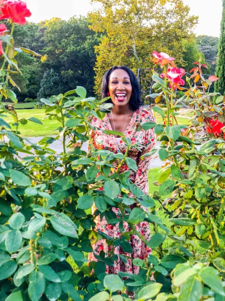 Shaunda Necole Norfolk Botanical Rose Garden