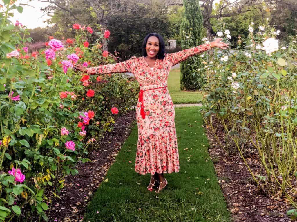 Shaunda Necole rose garden red hughes