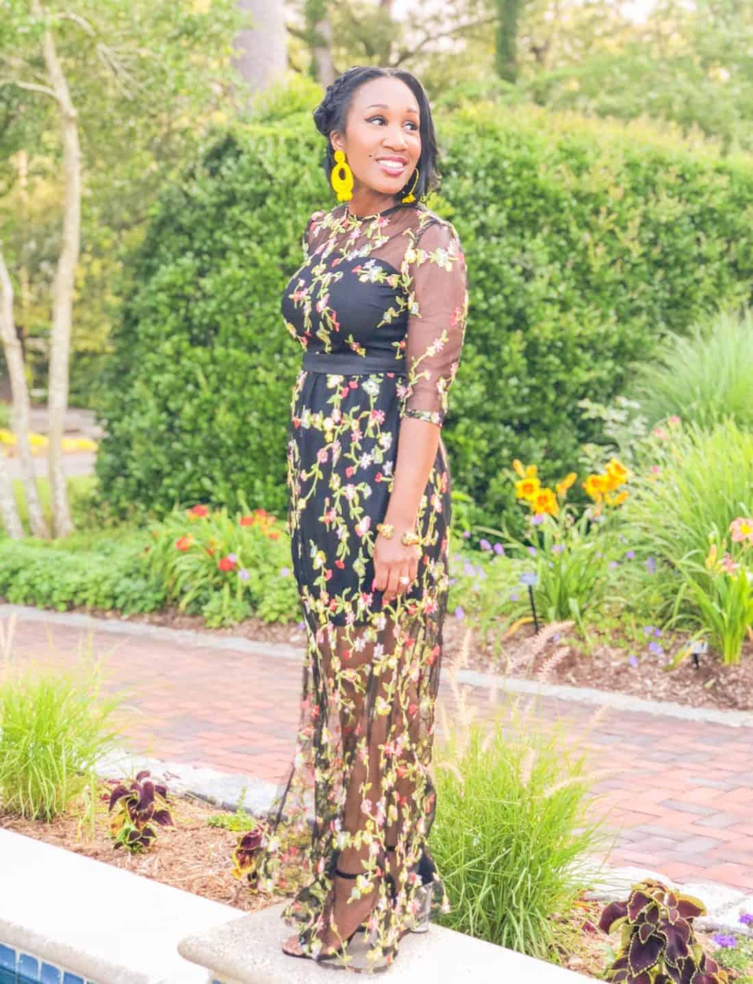 Shaunda Necole shein sheer dress under $30