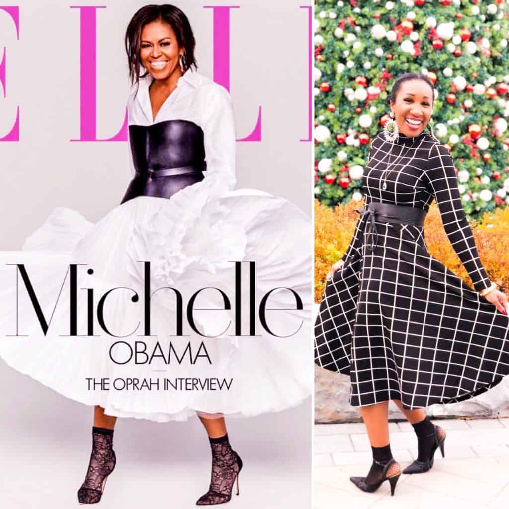 Shaunda Necole Becoming First Lady Michelle Obama Style