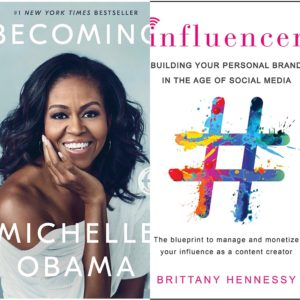 ShaundaNecole.com Winter Reading: Becoming by Michelle Obama & Influencer by Brittany Hennessy