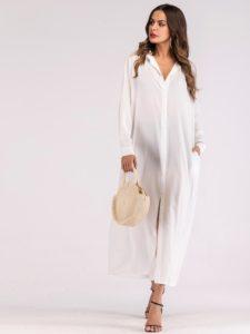 SheIn Longline Shirt Dress