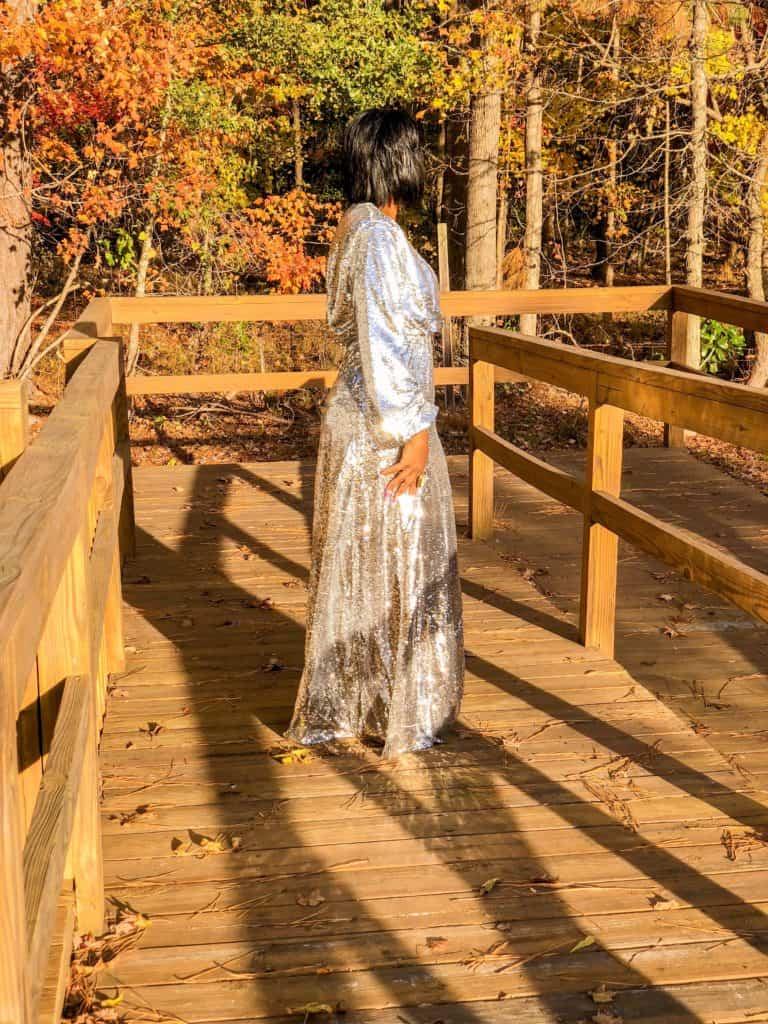 Shaunda Necole NYE gown