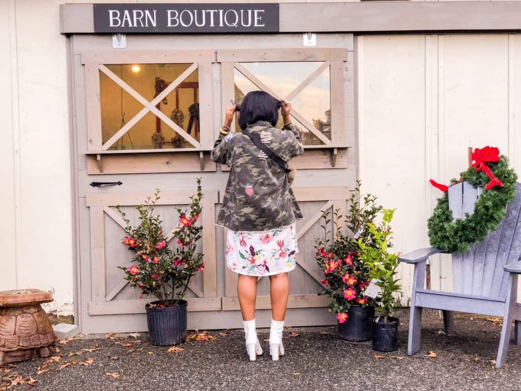 Shaunda Necole McDonald Garden Center Barn Boutique