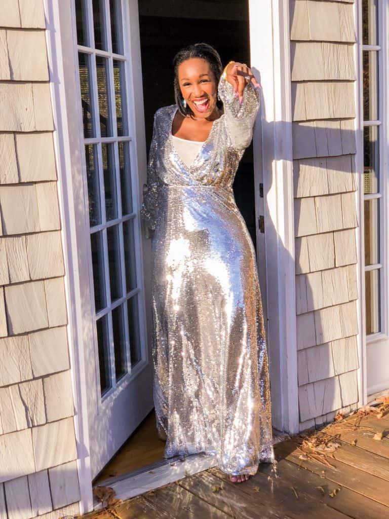 Shaunda Necole NYE sequin dress under $50