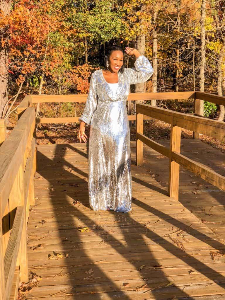 Shaunda Necole sequin dress under $50