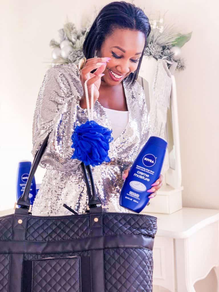 Shaunda Necole x NIVEA Creme Moisture Body Wash 5 Tips for Winter Skin