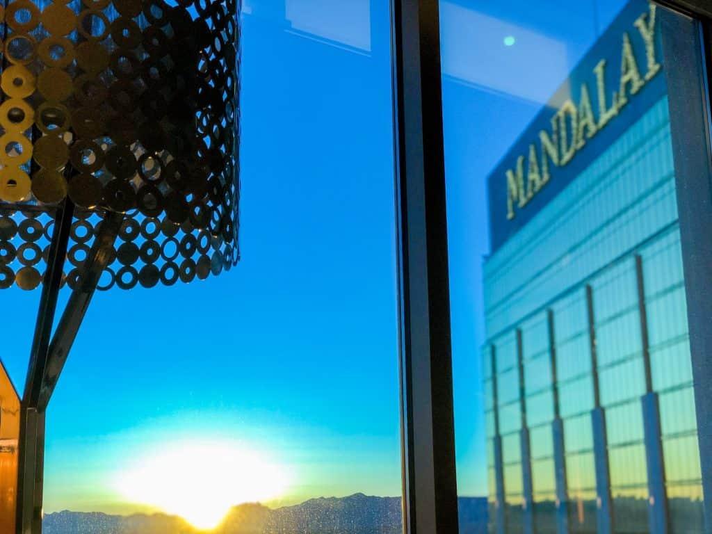 ShaundaNecole.com | Our Stay at Four Seasons Hotel Las Vegas- Mandalay Bay sunrise views