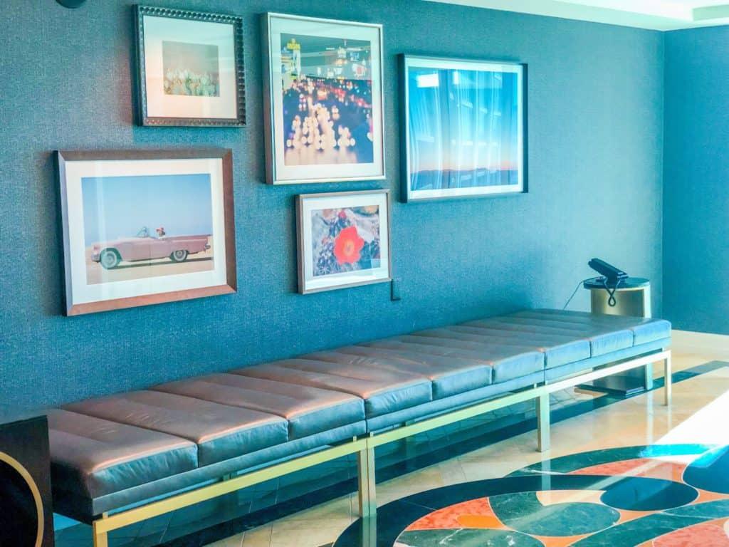 ShaundaNecole.com | Our Stay at Four Seasons Hotel Las Vegas- elevator lobby views