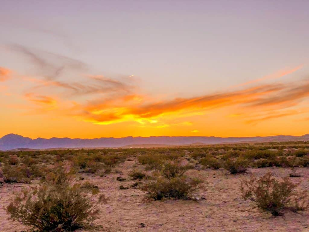 Shaunda Necole Las Vegas Desert Sunsets