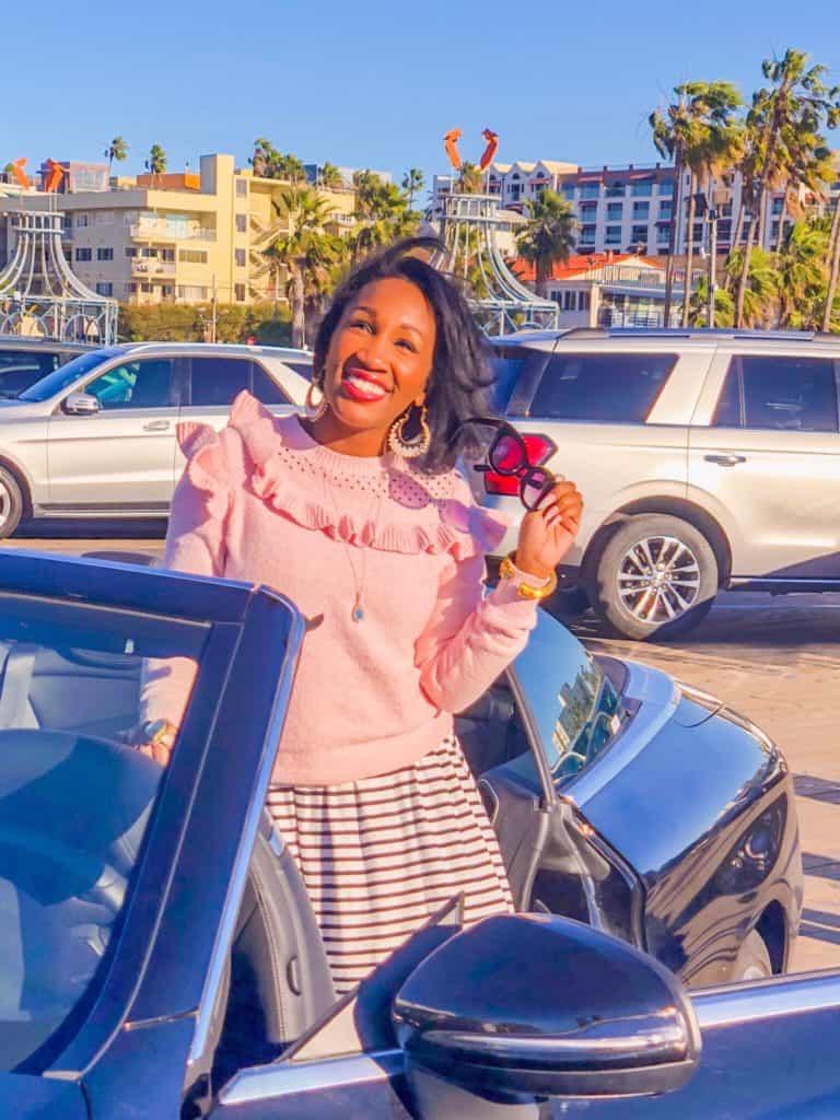 Shaunda Necole loves the Santa Monica Pier