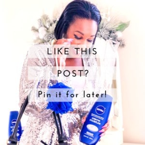 Shaunda Necole x NIVEA Creme Moisture Body Wash 5 Tips for Winter Skin- Pin It!