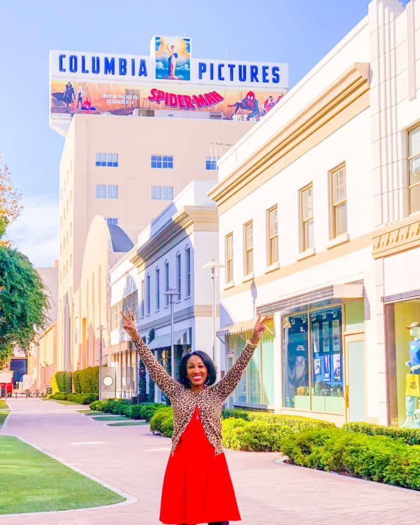 Shaunda Necole Columbia Sony Pictures Studios Culver City, California