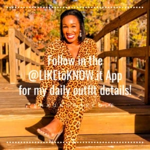 Hello Sunshine! California Views- Shaunda Necole Leopard Jumpsuit- Follow Me in the LikeToKnow.it App