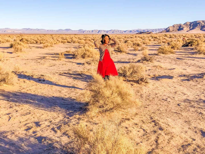 Shaunda Necole Desert Love: Mojave Desert in Barstow, CA