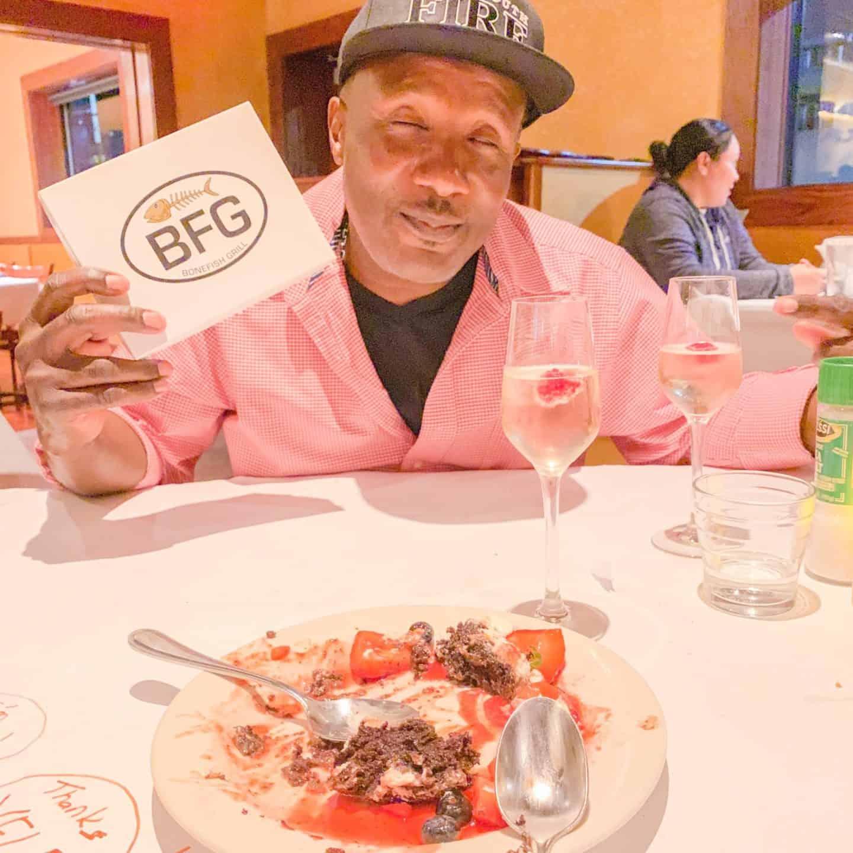 The Mister Enjoyed! ShaundaNecole.com Our Valentine's Dinner At Bonefish Grill