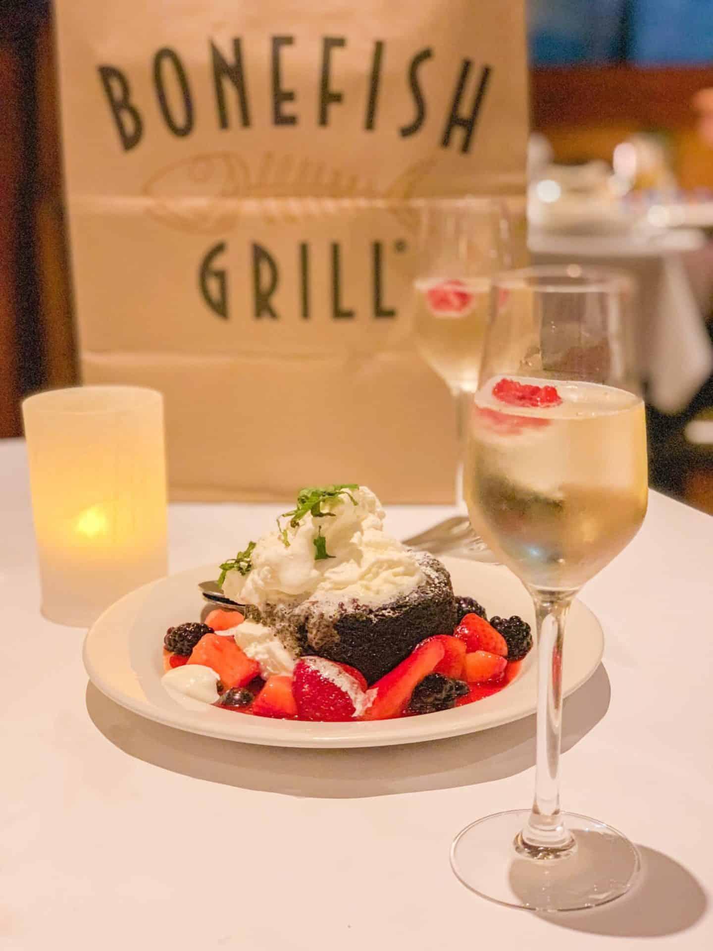 ShaundaNecole.com Our Valentine's Dinner At Bonefish Grill