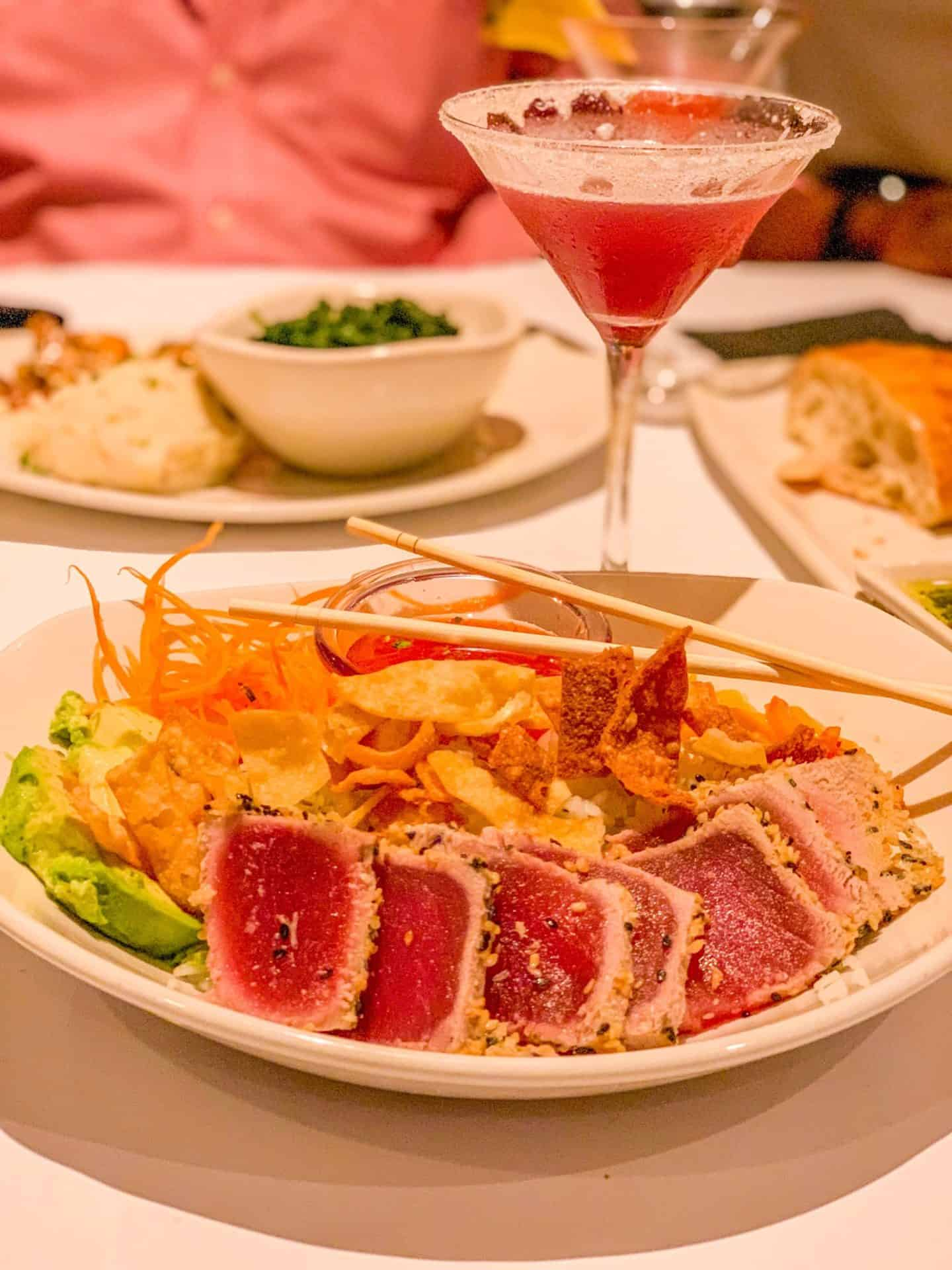 ShaundaNecole.com Our Valentine's Dinner At Bonefish Grill- Spicy Tuna Bowl